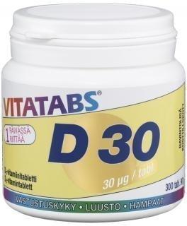Vitatabs D 30µg 300 tabl.
