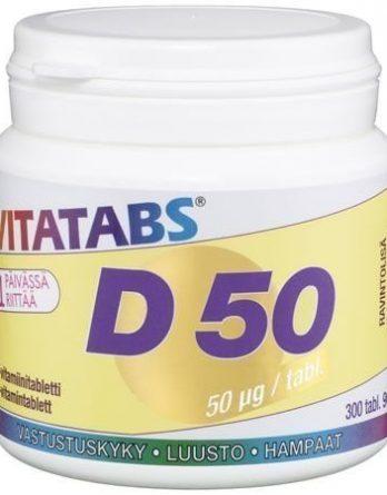 Vitatabs D 50 300 tabl