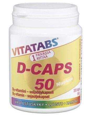 Vitatabs D-Caps 50