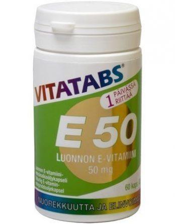 Vitatabs E 50 mg