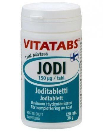 Vitatabs Jodi 120 tabl