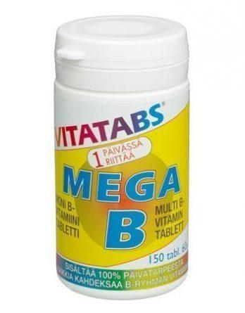 Vitatabs Mega B 150 tabl
