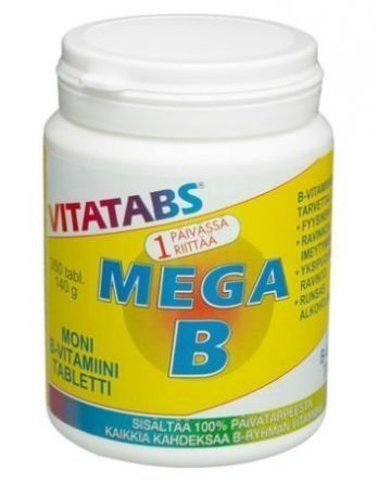 Vitatabs Mega B 250 tabl.