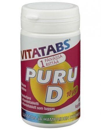 Vitatabs Puru D 10