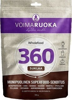 Voimaruoka 360 Suklaa 908 g