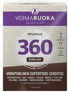 Voimaruoka 360 Wholefood Suklaa 5 x 50 g
