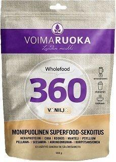 Voimaruoka 360 vanilja 908 g