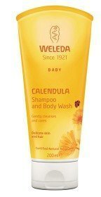 Weleda Baby Calendula Shampoo Body Wash 200 ml