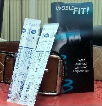 WobleFit! -urheilutesti 1 kpl