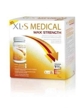 XL-S Medical Max Strength 120 tablettia - TUTUSTUMISTARJOUS