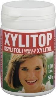 Xylitop ksylitolipuriste piparminttu 100 kpl
