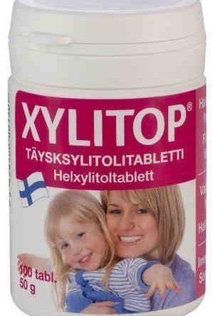 Xylitop ksylitolitabletti 100 tablettia