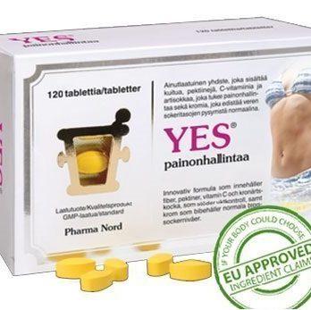 Yes ravintolisä 120 tablettia
