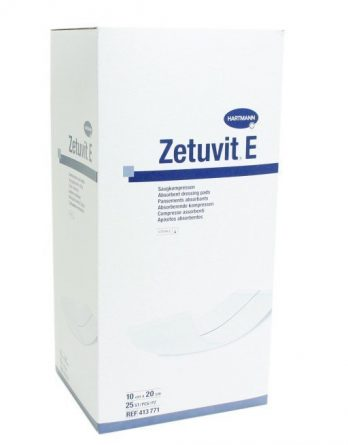 Zetuvit E Absorptionsförband 10 X 20 Cm 25 kpl