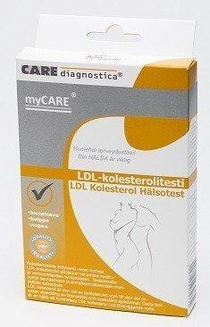 myCARE LDL-kolesterolitesti 1 kpl